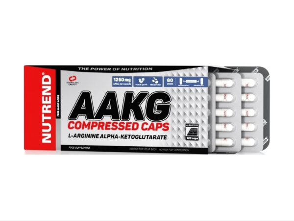 Nutrend AAKG Compressed Caps 120 Kapseln