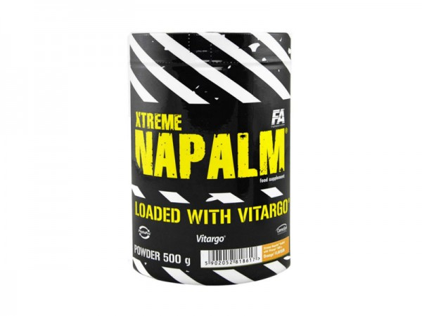 Fitness Authority Xtreme Napalm + Vitargo 500g