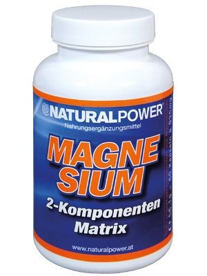 Natural Power Magnesium 60 Kapseln