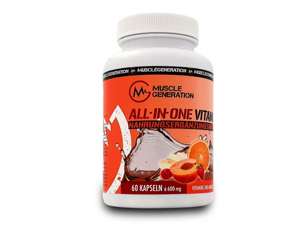 Musclegeneration All-In-One Vitamin 60 Kapseln