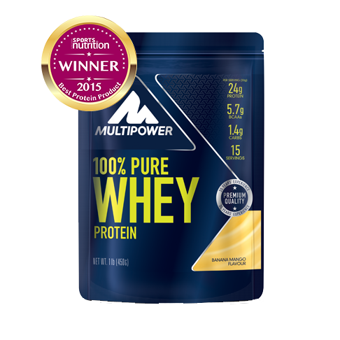 Multipower 100% Pure Whey 450g