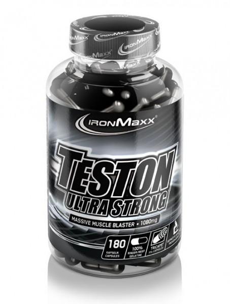 Ironmaxx Teston Ultra Strong 180 Kapseln
