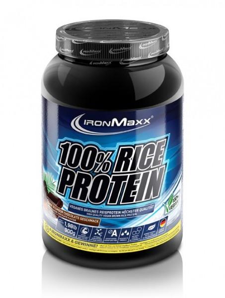 Ironmaxx 100% Rice Protein 900g