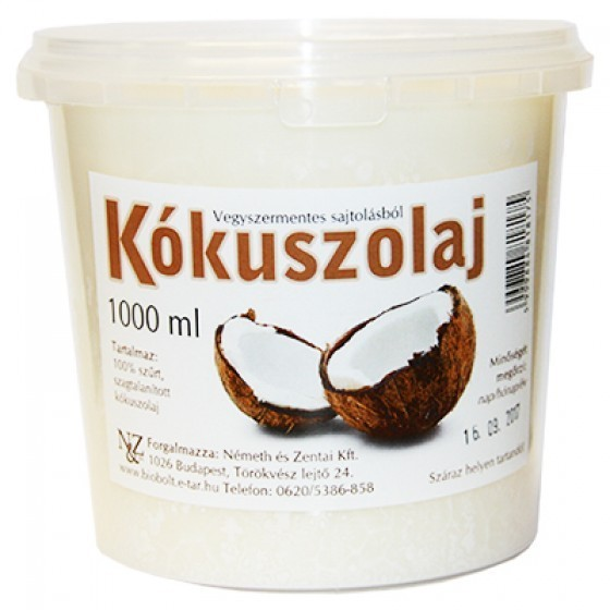 Nature Cookta Kokosöl 1000g