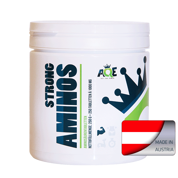 AQE Strong Aminos 250 Tabletten