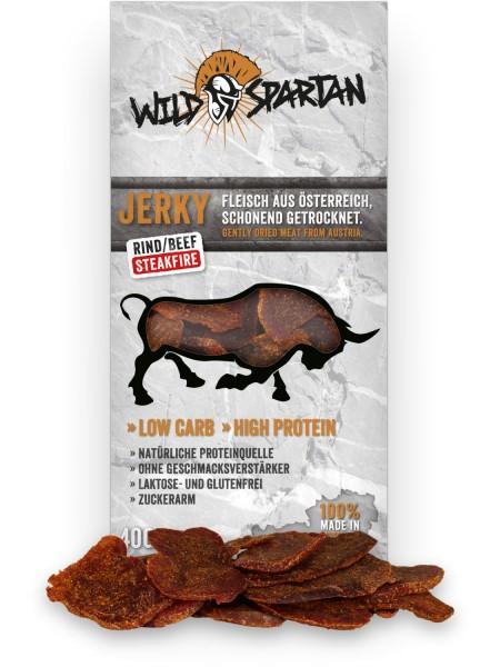 Wild Spartan Rind Steakfire 40g