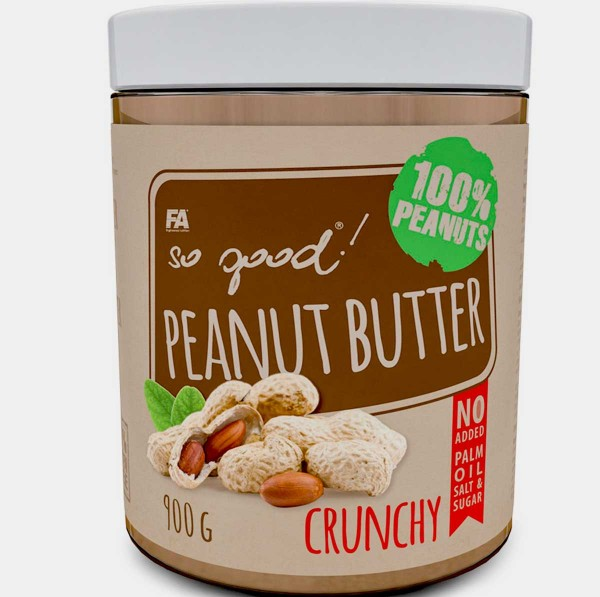Fitness Authority So Good Peanut Butter Crunchy 900g