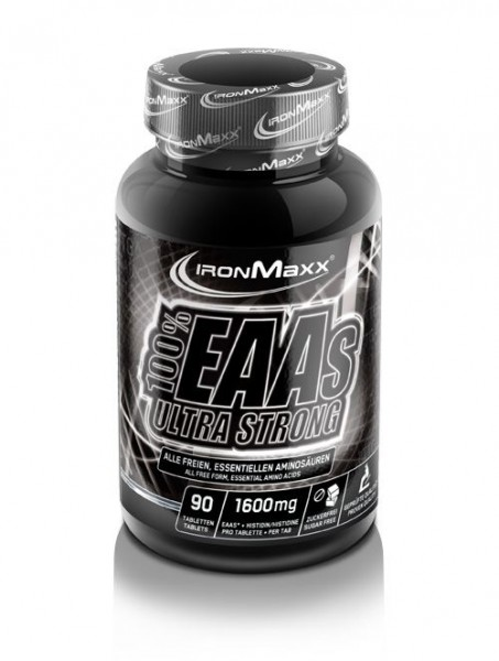 Ironmaxx 100% EAAs Ultra Strong 90 Tabletten
