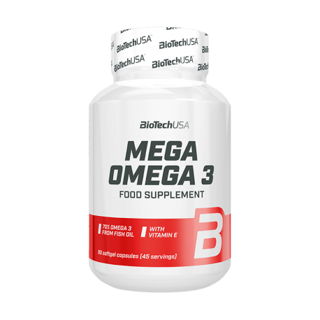 BioTech USA Mega Omega 3 90 Kapseln