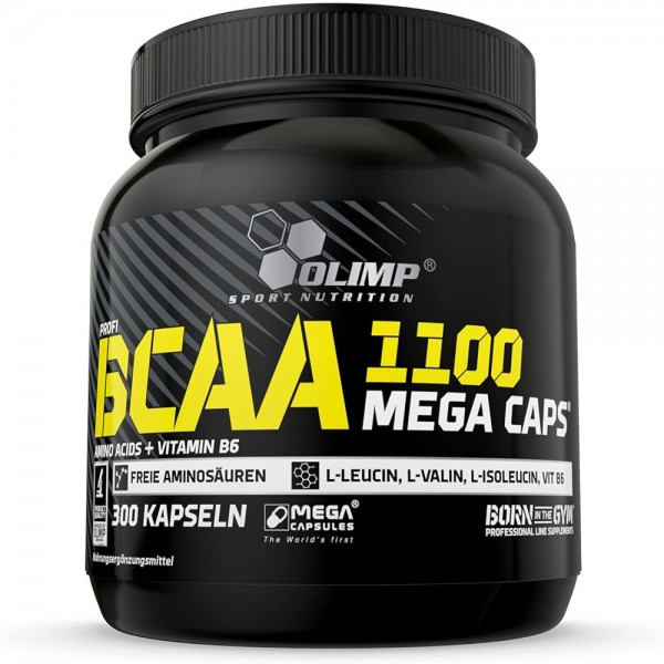 Olimp BCAA 1100 Mega Caps 300Kapseln