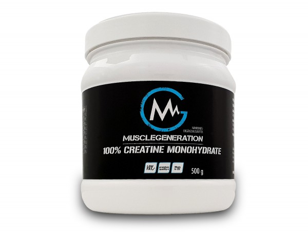 Musclegeneration 100% Creatine Monohydrate 400g neutral