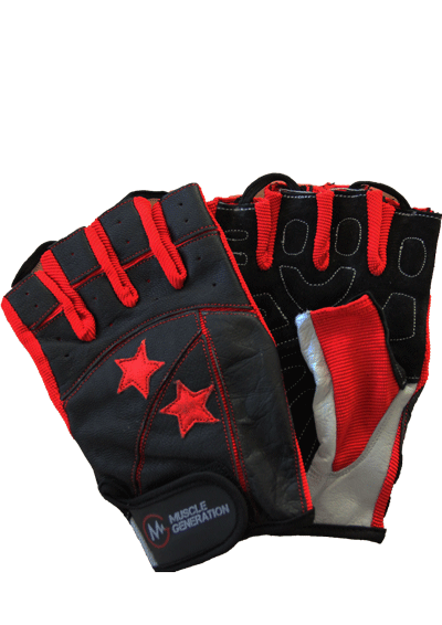 Musclegeneration Trainingshandschuhe Red Star
