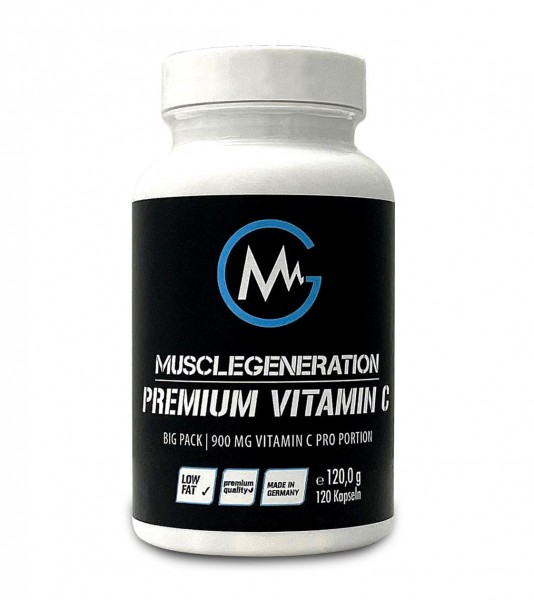 Musclegeneration Premium Vitamin C 120 Kapseln