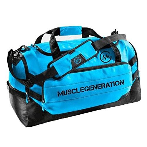 Musclegeneration Sporttasche blau/schwarz