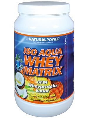Natural Power Iso Whey Matrix 600g