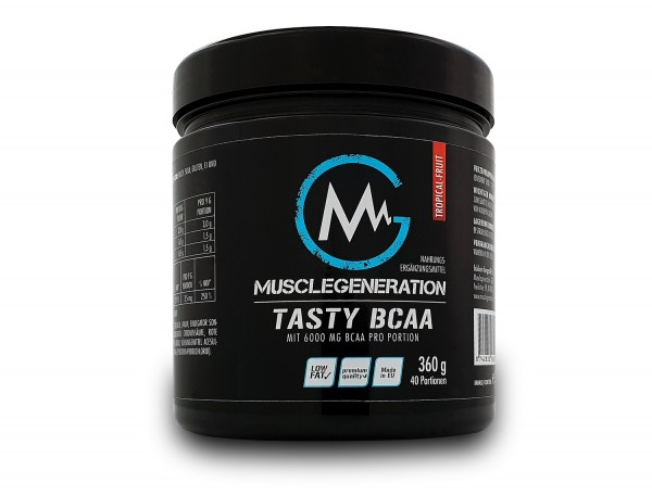Musclegeneration Tasty BCAA 360g