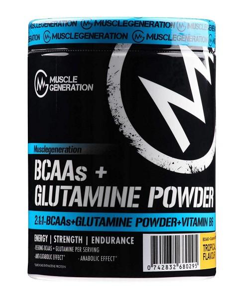 Musclegeneration BCAAs + Glutamine Powder 400g