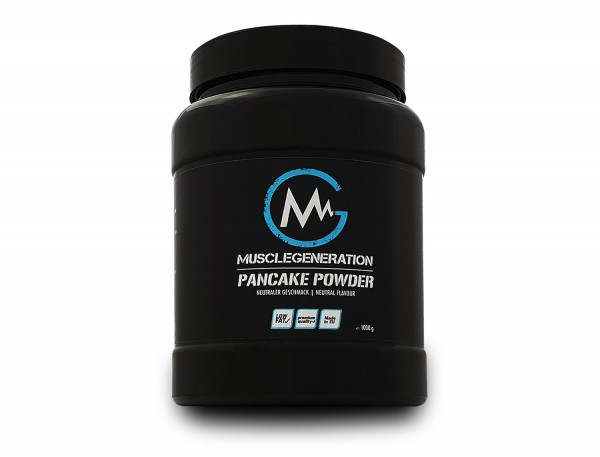 Musclegeneration Pancake Powder Neutral 1000g - MHD: 07/2019