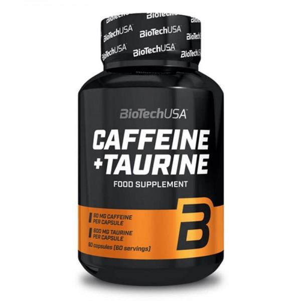 BioTech USA Caffeine+Taurine 60 Kapseln