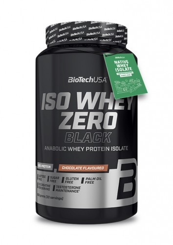BioTech USA Iso Whey Zero Black 908g