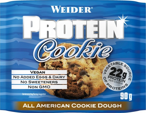 Weider Vegan Protein Cookie All American Cookie Dough 90g