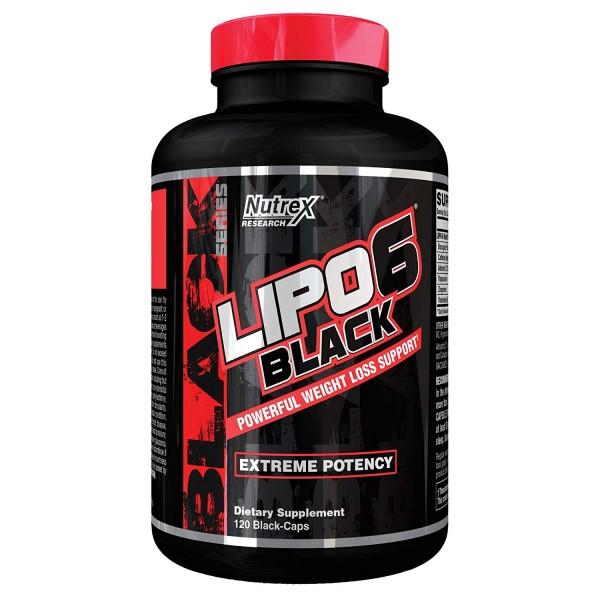 Nutrex Research Lipo 6 Black 120 Kapseln